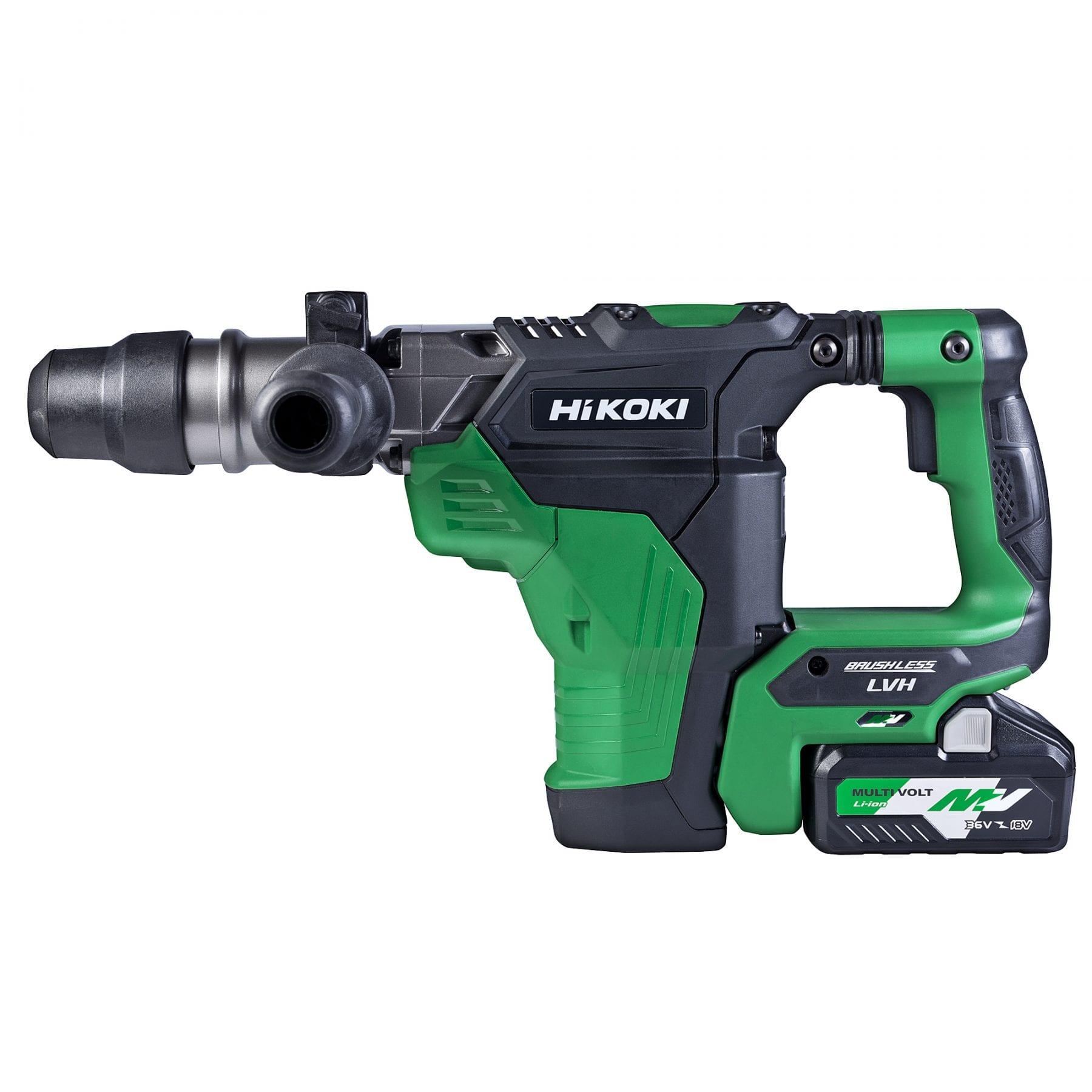 36v 40mm Sds Max Rotary Hammer Kit Hikoki