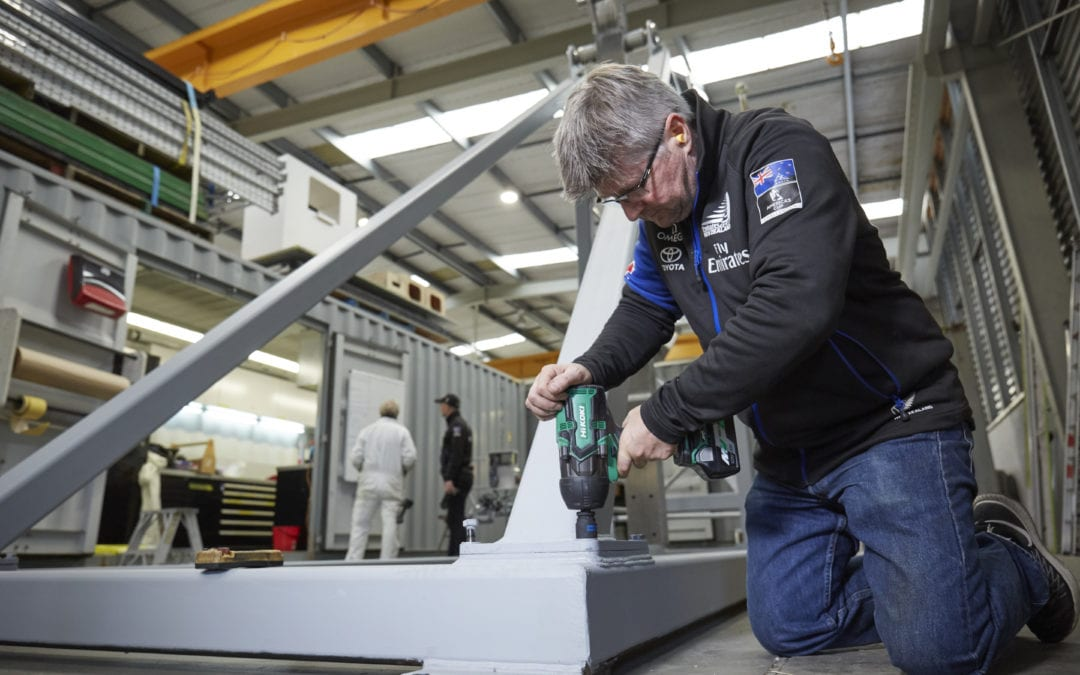 EMIRATES TEAM NEW ZEALAND USING NEW HIKOKI POWER TOOL TECHNOLOGY TO DEFEND THE AMERICA'S CUP