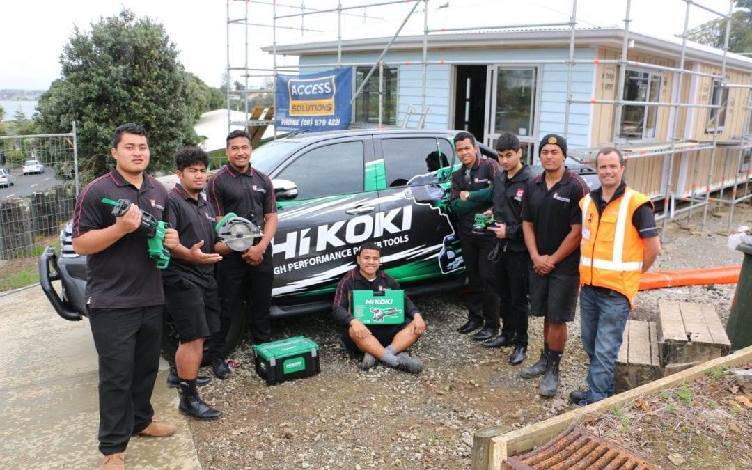 HiKOKI supporting our future Tradespeople