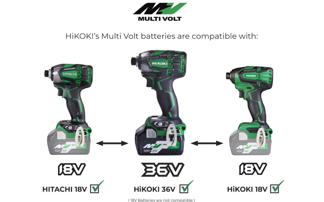 Get to know the benefits of your Multi Volt batteries