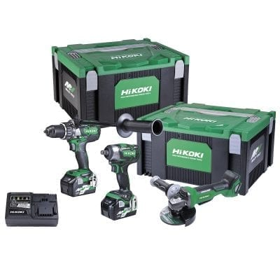 HiKOKI 36V Brushless 3 Tool Kit
