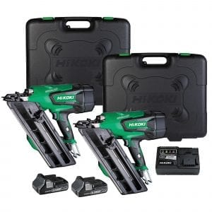 Twin 18V Gasless Framing Nailer Kit