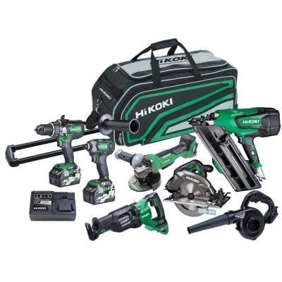 36V Brushless 7 Tool Trade Kit HiKOKI