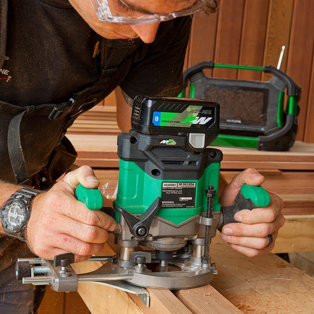 36V Brushless 1/2 Plunge Router Bare Tool - HiKOKI